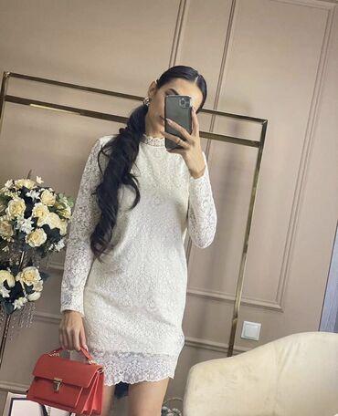 женское платье 56 размера в Кыргызстан: Новое платье даже этикетку не сняли1000 сразмер Мно на С тоже