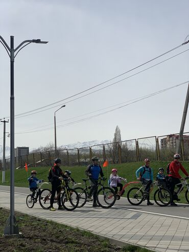 прицеп для велосипеда в Кыргызстан: Прокат велосипедов Цены: 29е колёса 400/день 600/сутки 350/ночное