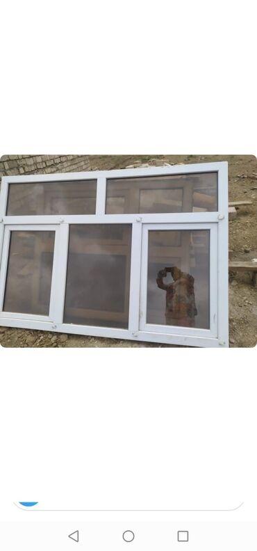 taxta - Azərbaycan: Plastik pencere 1.40-2 metre.Qiymeti 80 manat. Unvan yeni gunesli