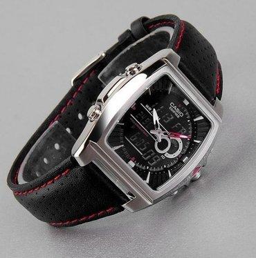Мужские Черные Классические Наручные часы Casio в Бишкек