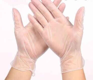 Виниловые перчатки 780 сом