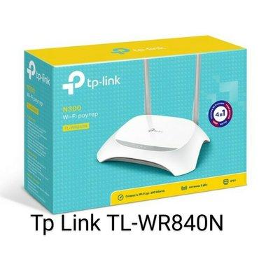 Tp link tl-wr840n2 antenali wifi routeroptik xette qosulandimodem