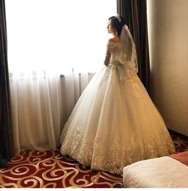 Продаю Свадебное платье новое            в Бишкек