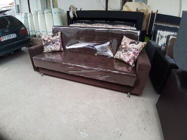 Мебель на заказ в Кыргызстан: Раскладной новый диван