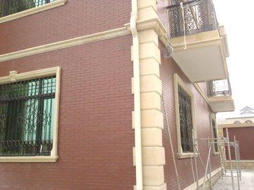 fasad ortukleri - Azərbaycan: Fasad işləri. Müxtəlif üslubda və müxtəlif materiyallarla fasad işləri