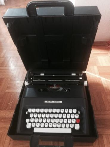 Pisaca masina Unis tbm Biser 35, sa koferom, kao nova, izvanredno - Belgrade