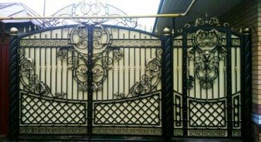 Кованные ворота. звоните или whatsapp в Бишкек