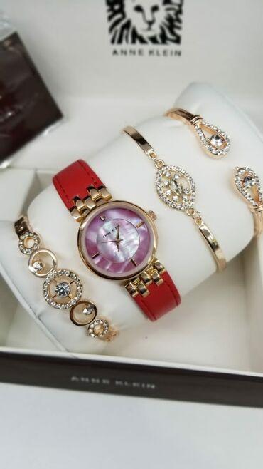 женские ромперы в Азербайджан: Серебристые Женские Наручные часы Anne Klein