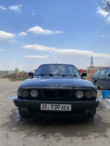 BMW - Зеленый - Бишкек: BMW 520 2 л. 1995 | 324000 км