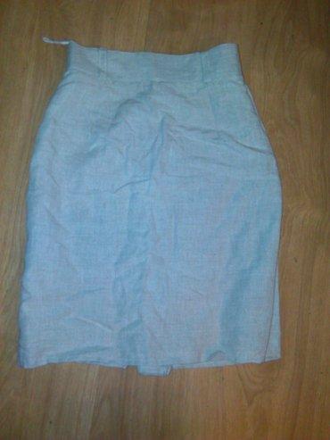 Lanena suknja vel. 36 - Prokuplje