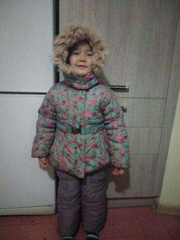 Зимний костюм для девочки 3-4 года. Качество отличное