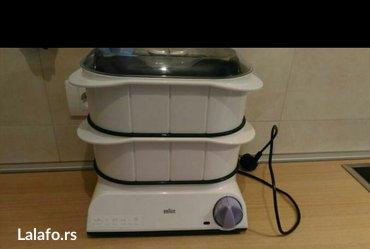 Braun aparat za kuvanje na pari,kao nov!!! - Beograd