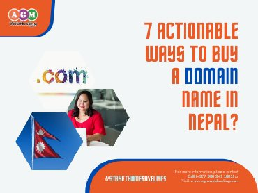 7 Actionable ways to buy a domain name in Nepal?  Every website either