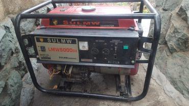 Генератор бензиновый 6 Квт фирменный в Бишкек