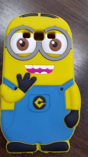Продаю чехол для Samsung А3 2015 года. Цвет жёлтый миньон. Состояние о