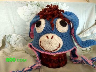 Беретка вязанная - Кыргызстан: Продаем вязаные шапки ручной работы. Вяжем на заказ