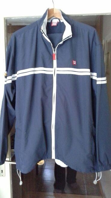 Muška odeća | Kragujevac: Muška trenerka, orginal Wilson, kao nova, veličina XL