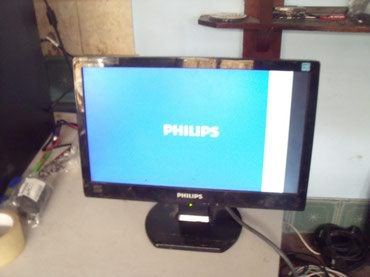 Philips-xenium-9-9q - Srbija: 16 inchni monitor Philips 160E1 ispravan ali kao sto se vidi na