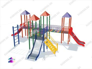 Детская площадка в Лебединовка