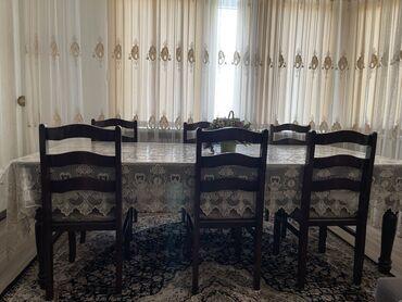гос закупки бишкек в Кыргызстан: Состояние отличное в комплекте 6 стула и стол,стол ещё удлиняется,до