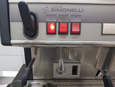 профессиональная автоматическая кофемашина для кофейни в Кыргызстан: Кофе машинка 2рожковая Итальянская, кофемолка в комплекте
