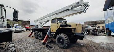Автовышка на шасси Урал 4320 в рабочем состоянии ПСС-121.22 (АГП-22