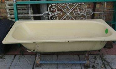 продаю эмалированную ванну 170см в хорошем состоянии с подставкой не д в Бишкек