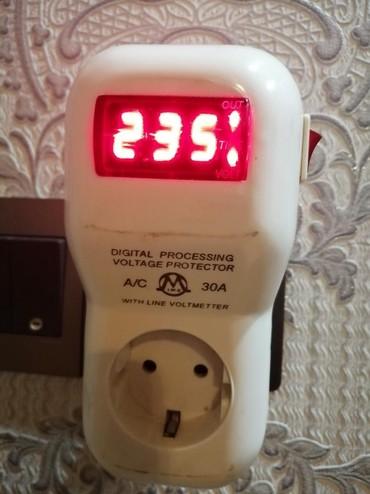 Электроника в Аджигабул: Gerginlik relesi. Butun meishet eshyalarinizi yuksek gerginlikden ve
