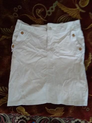 Женская одежда в Каинды: Джинсовая юбка 46-48 в хорошем состоянии