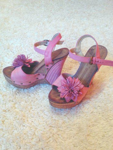 Sandale roze, 37 broj, preudobne, kao nove! - Bor