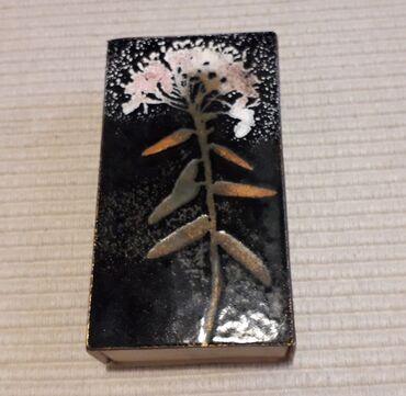 Τέχνη και Συλλογές - Ελλαδα: 1 σπιρτόκουτο ( με σπίρτα )ANNIKKI RANKI - Hand Made in FinlandΤο