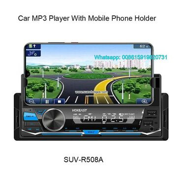 Car radio MP3 Player with mobile phone holderModel