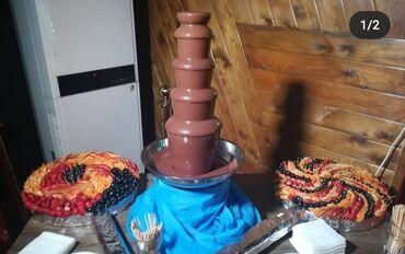 Шоколад pamiyella - Кыргызстан: Шоколадный фонтан на выезд, С фруктовый нарезкой в подарок