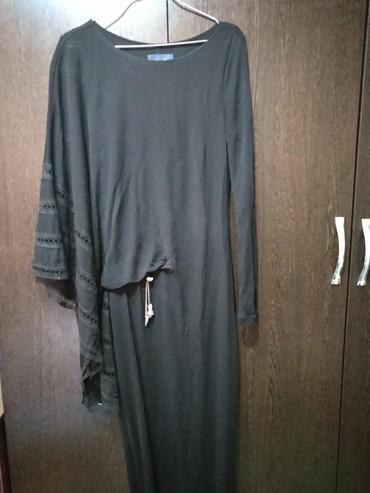 длинные вечерние платья с длинным рукавом в Кыргызстан: Продаю шикарное вечернее длинное платье 44_46 размера один рукав