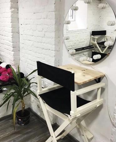 массажное кресло бишкек цена в Кыргызстан: Сдается кресло для бровиста - визажиста в холле салона. Токтогула