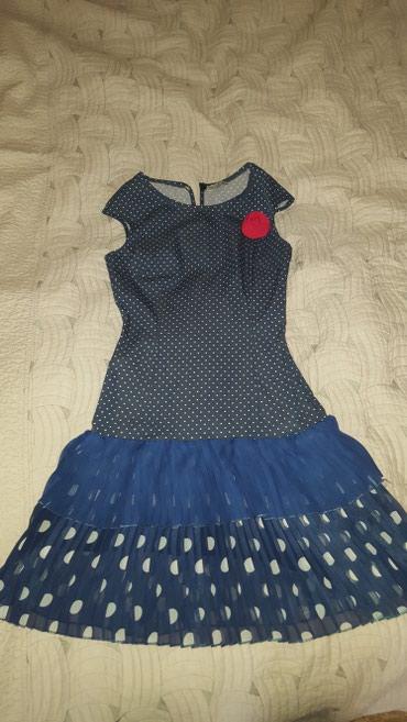 блузка в горошек в Кыргызстан: Продаю платье 36р(42).Турция . Платье в горошек новое
