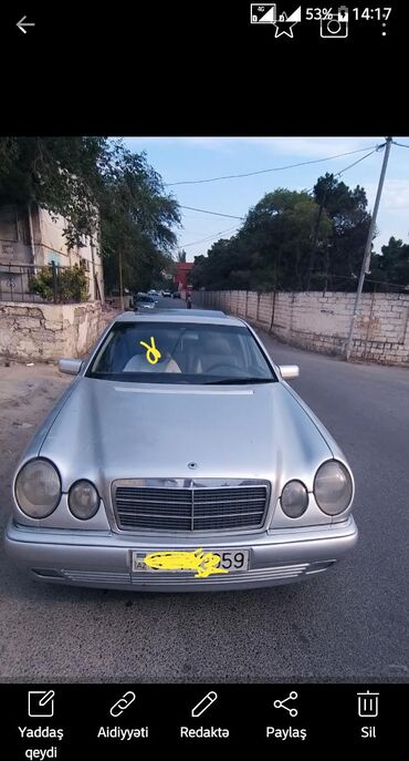 audi-100-28-at - Azərbaycan: Mercedes-Benz E 280 2.8 l. 1999 | 29852 km