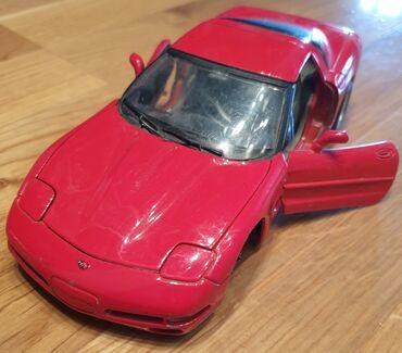 Auto gume - Srbija: BURAGO CHEVROLET CORVETTE Korveta 1997.godiste automobilcic igračka