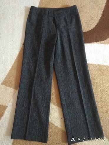 сударь мужская одежда официальный в Кыргызстан: Брюки прямые. Размер 48. Длина 100 см. Обхват бедер 94. Состояние идеа
