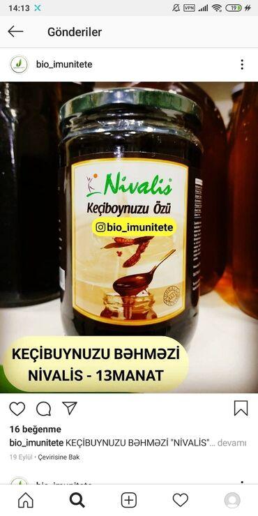 kecibuynuzu - Azərbaycan: Nivalis keçibuynuzu bəhməzi