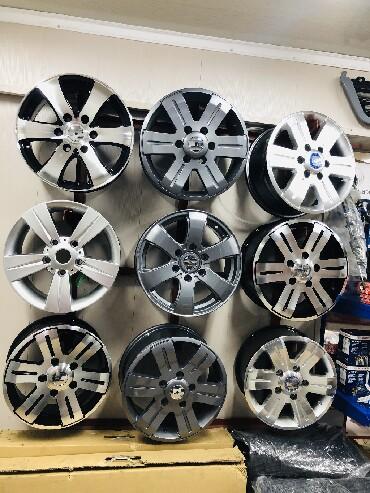 сколько стоит шины в Кыргызстан: Диски титановые на Рекс, Спринтер R16, R15 Мерседес Бенц