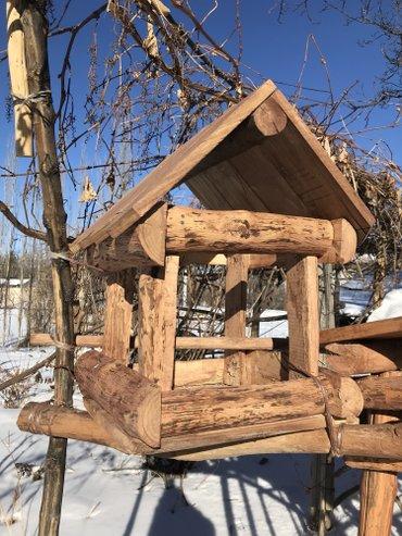 сетка от птиц в Кыргызстан: Продаются скворечники (кормушки для птиц) из дерева