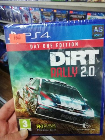 Bakı şəhərində Dirt rally 2.0