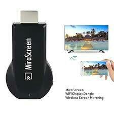 монитор планшет в Кыргызстан: Mirascreen(Chromecast) Wi-Fi адаптер для ТВ/Проектора/ПК к Телефону