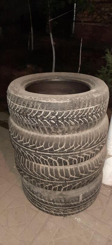 Продаю колёса разных размеров 205 × 55 - 16 лысое 1штука 150сом215?%