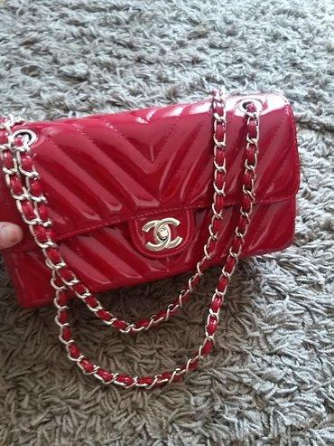 Chanel torba bordo