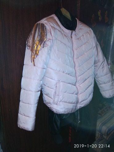 Женская одежда в Каракол: Продаю куртку в хорошем состоянии 44 .46