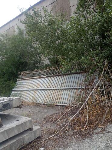 Ворота железный хорошом Состоянии длина 7 метр, договорная тел