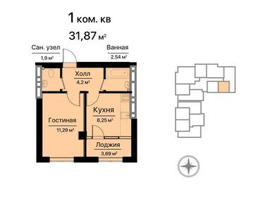аламедин 1 квартиры in Кыргызстан | БАТИРЛЕРДИ САТУУ: Элитка, 1 бөлмө, 33 кв. м Брондолгон эшиктер, Видео байкоо, Лифт