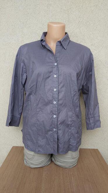 Košulje i bluze | Pozarevac: AZZURO pamucna kosuljaVel. 42Duzina 60cmGrudi 54cmRamena 40cmRukavi